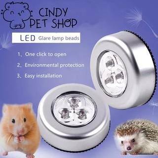 Đèn led gắn chuồng cho Hamster, Nhím, Sóc Bông, Sóc Bay Úc, Sóc Đất, Sóc Chuột... 1