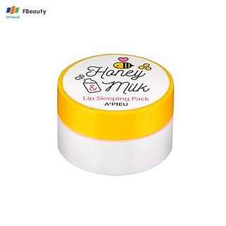 Mặt Nạ Ngủ Môi A PIEU Honey Milk Lip Sleeping Pack 6.7g