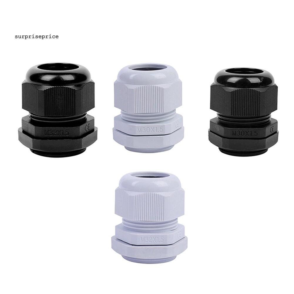 Bộ 10 cáp nối chống nước IP68 M30 M32 cho dây điện 16mm - 21mm