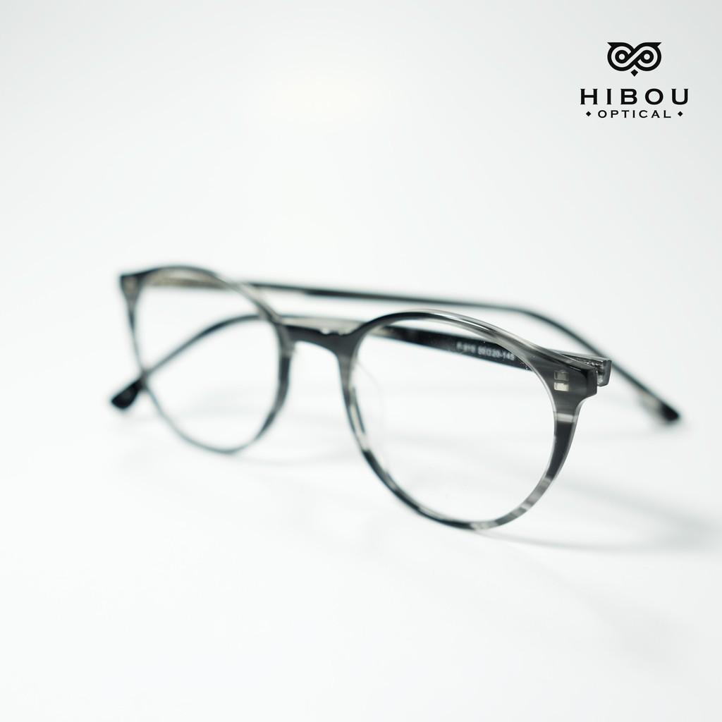 Gọng tròn thời trang GD910 nhiều màu, lắp được mắt cận + Tặng kèm hộp và khăn lau kính