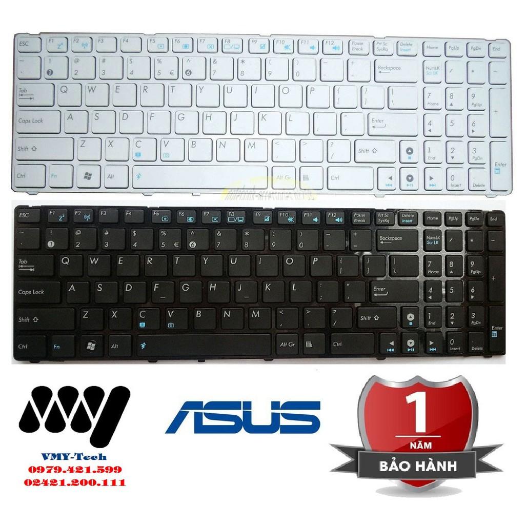 Bàn phím laptop asus K52 K53 K53E K53S K53SD K53SJ K53SV G51 G60 X53 X73 NEW 100%