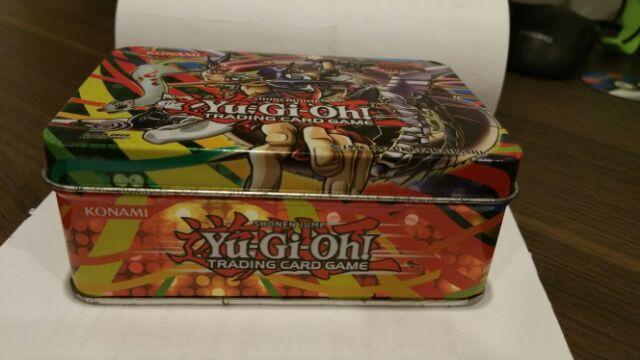 Bộ Bài Yugi zexal hộp thiếc