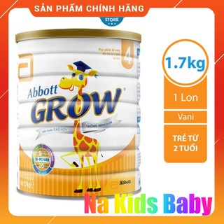 Sữa bột Abbott Grow 4 hươu cao cổ 1.7Kg chính hãng date 11 2023 thumbnail