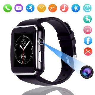 【P&T】(Vòng đeo tay sức khỏe)X6 Bluetooth Screen Smartwatch Smart Watch for IOS Android iPhone Samsung Fashion Watches
