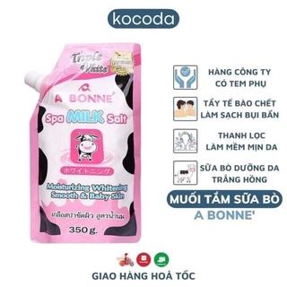 Muối tâm sữa bò A BONNE của Thái Lan ,dung lượng 350g thumbnail