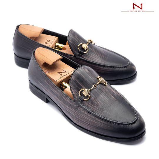 Giày Âu Thủ Công Zenlee patina - Mã:LPX052