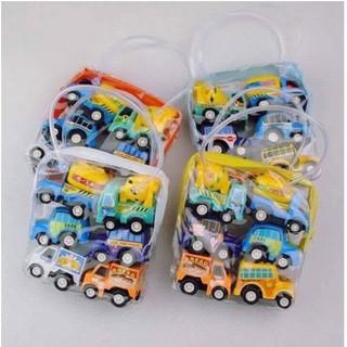 [RẺ VÔ ĐỊCH] set đồ chơi cho bé – Set 6 ô tô đồ chơi cho bé | Bán Chạy
