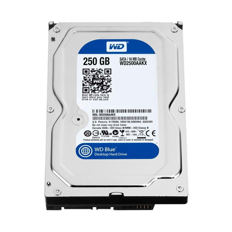 Ổ cứng máy tính Western Digital Caviar Blue 250 GB - 7200rpm - 16MB Cache - 2515073 , 198641565 , 322_198641565 , 399999 , O-cung-may-tinh-Western-Digital-Caviar-Blue-250-GB-7200rpm-16MB-Cache-322_198641565 , shopee.vn , Ổ cứng máy tính Western Digital Caviar Blue 250 GB - 7200rpm - 16MB Cache