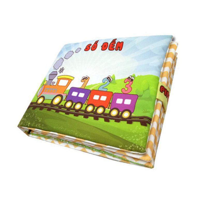 Sách vải Pipo cho bé từ 6 tháng