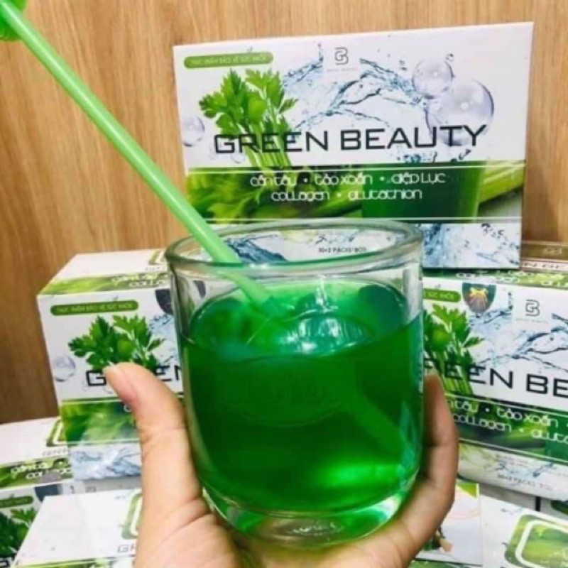 Nước ép Cần Tây Green Beauty (Chính hãng date mới)