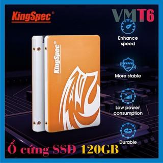 Ổ cứng SSD 120GB KingSpec chuẩn 2.5inch Sata3 tốc độ cao - Bảo hành chính hãng 36 tháng !!!