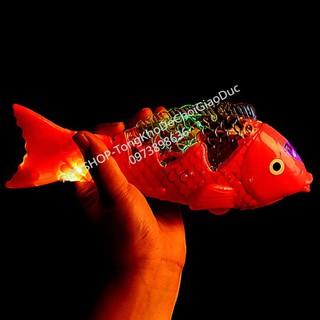 Đồ Chơi Trẻ Em Đèn Con Cá và Lồng Đèn Thú Size To 40cm Cực Đại, Nhập [DO CHOI CHO BE] Có Quà Tặng A13