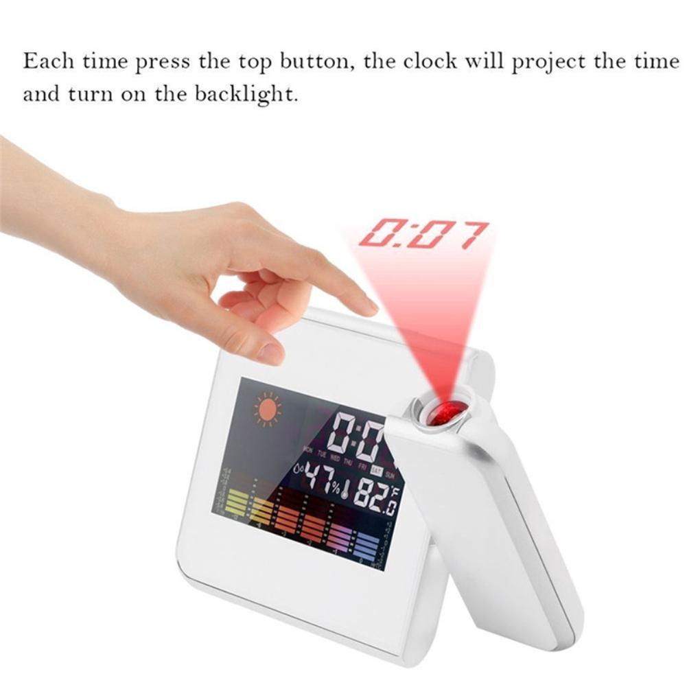 Đồng hồ báo thức kỹ thuật số đa năng tiện dụng chất lượng cao