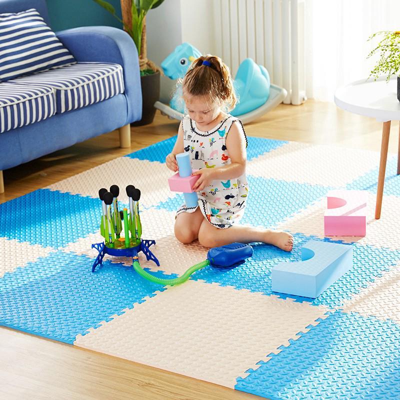 6pcs / set eva bọt bé chơi câu đố mat cho trẻ em sàn thảm thảm 60x60x2.5cm