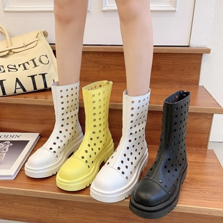 Giày Sandal Đế Dày Đục Lỗ Thoáng Khí 2021