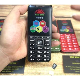 ĐIỆN THOẠI SUN 6 - 3 sim ( loa to, chữ to),pin 18000 mah tự động ghi âm cuộc gọi, giả giọng nói - hàng nhập khẩu thumbnail