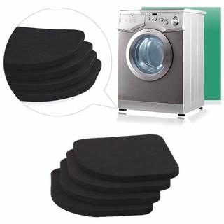 Combo 4 miếng lót cao su kê máy giặt, tủ lạnh chống rung lắc, trơn trượt tiện lợi - Gutyhome thumbnail
