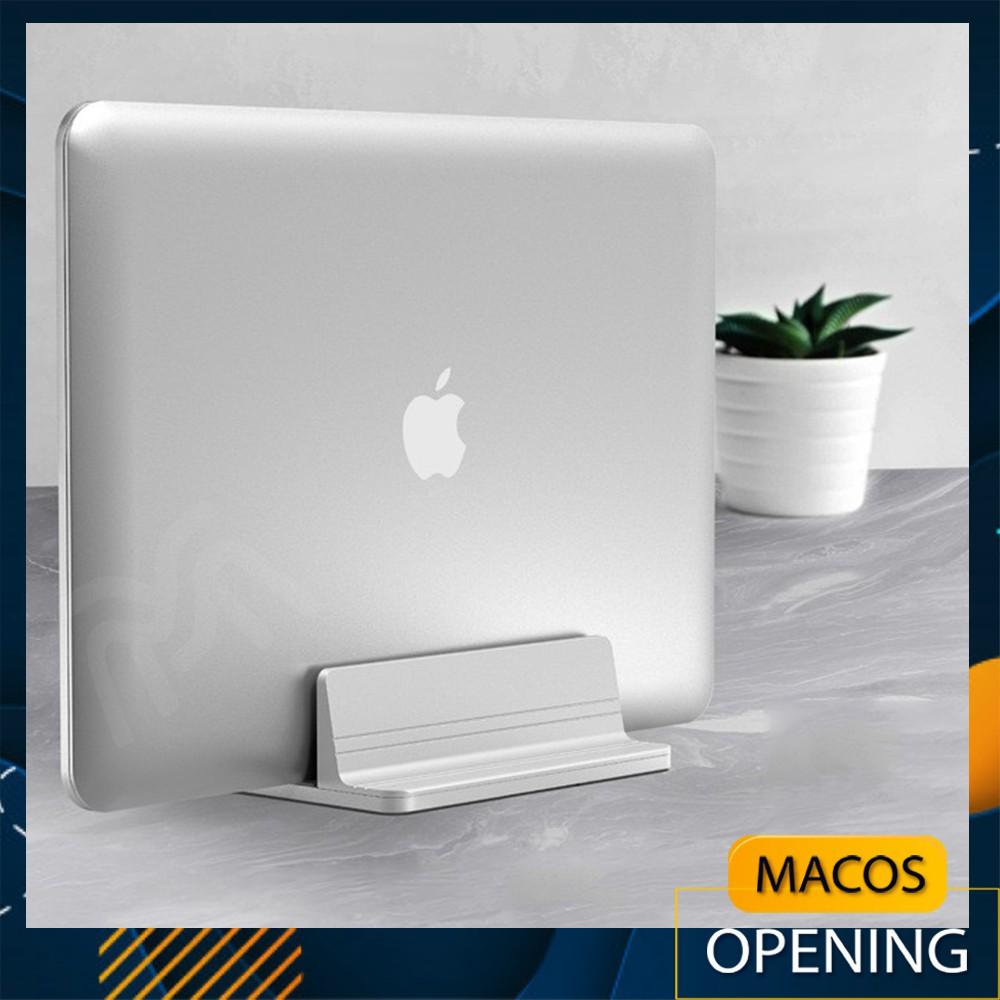 Giá đỡ đế kẹp để Macbook Laptop máy tính bảng Ipad Surface dạng đứng bằng nhôm nguyên khối - laptop stand (AM01)