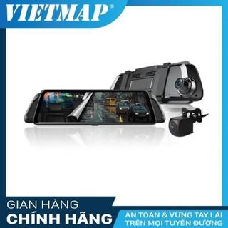 Camera hành trình VIETMAP iDVR P2 – Dẫn đườngS1-Phát WiFI-Điều khiển bằng giọng nói -Cảnh báo ADAS- Thẻ nhớ & Sim 4G