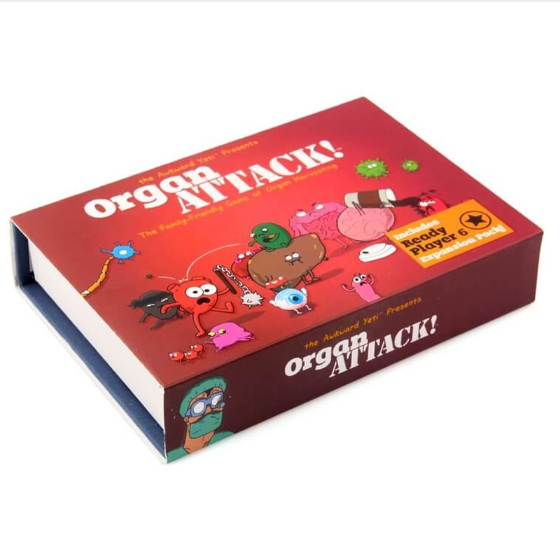 Popular Organ ATTACK! Board Game Family Party Card Game Toys Ready Stock Kids Gifts