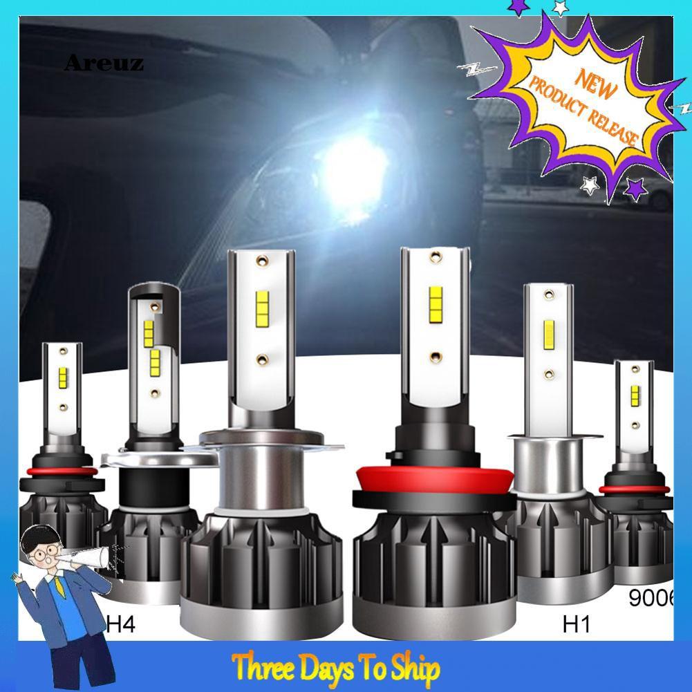 RED-LigRoadsun 1 Pair H1/H4/H7/H8/9005/9006 Car LED Headlight Driving Fog Light Lamp