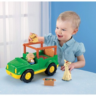 99% Đồ chơi Xe thú Safari Truck Fisher Price Little People (Mỹ)