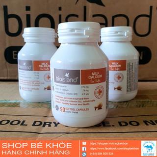 Milk canxi bioisland bổ xung canxi cho bé từ 6 tháng thumbnail