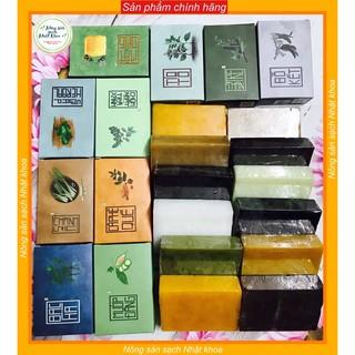 (chính hãng) combo 10 loại xà bông thảo dược , tuỳ chọn mẫu , tặng kèm túi tạo bọt thumbnail