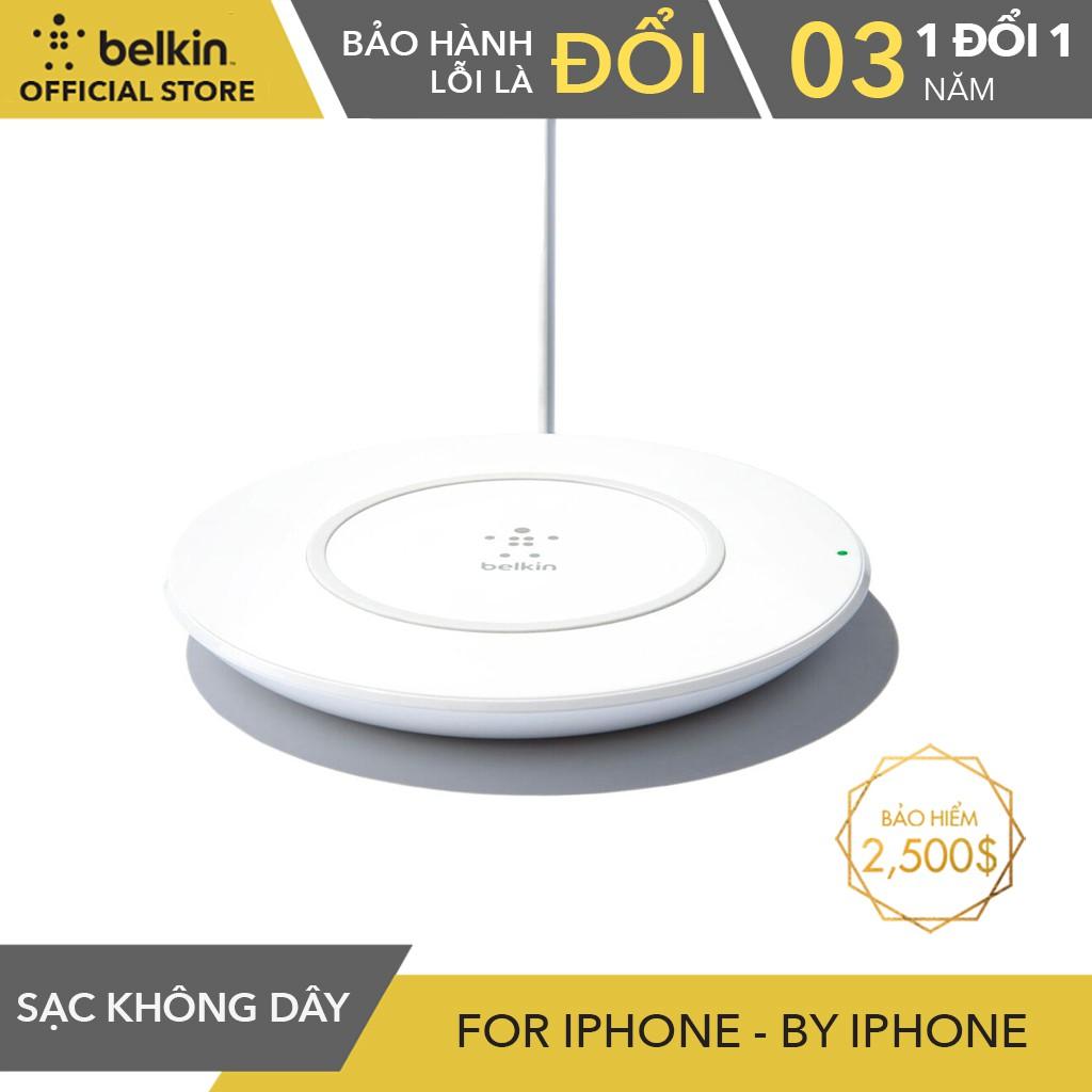 Đế Sạc Không Dây Cho iPhone Belkin F7U027dqWHT - 3615455 , 1214851845 , 322_1214851845 , 1890000 , De-Sac-Khong-Day-Cho-iPhone-Belkin-F7U027dqWHT-322_1214851845 , shopee.vn , Đế Sạc Không Dây Cho iPhone Belkin F7U027dqWHT