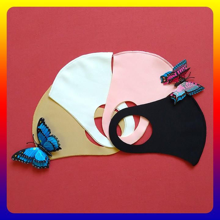 Khẩu Trang Vải Su Hàn Quốc Chống Bụi, Chống Nắng - infomybestshop