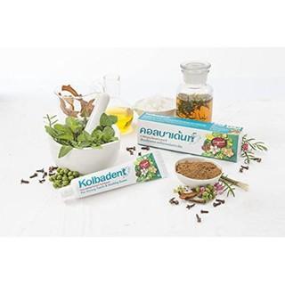 kem đánh răng thảo dược 100% Kolbadent . nhập khẩu từ thái lan