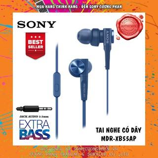 Tai nghe SONY In-ear EXTRA BASS XB55AP – Hãng Phân Phối Chính Thức