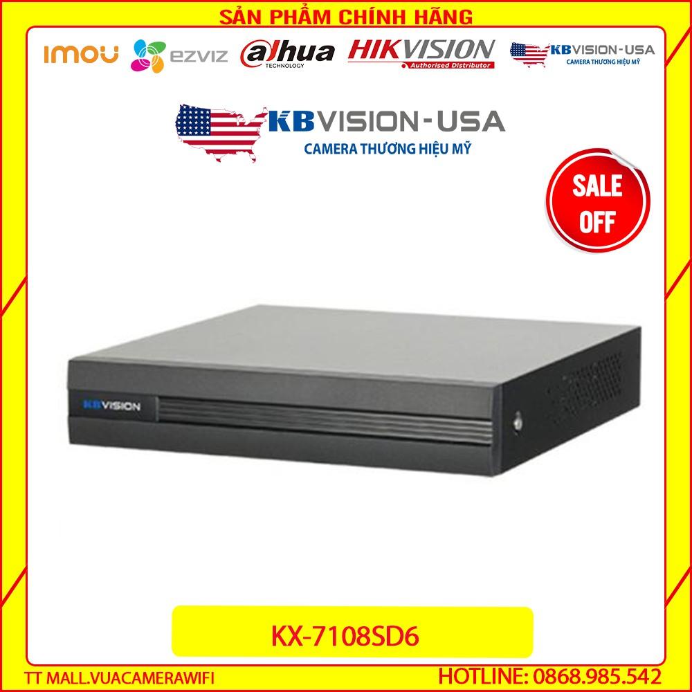 {Giá HỦY DIỆT} Đầu ghi hình 8 kênh 5 in 1 KBVISION KX-7108SD6 - Bảo hành chính hãng 2 năm