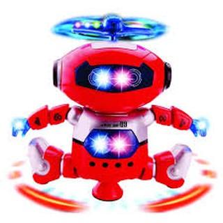 Người máy biết đi có đèn nhạc (loại to)
