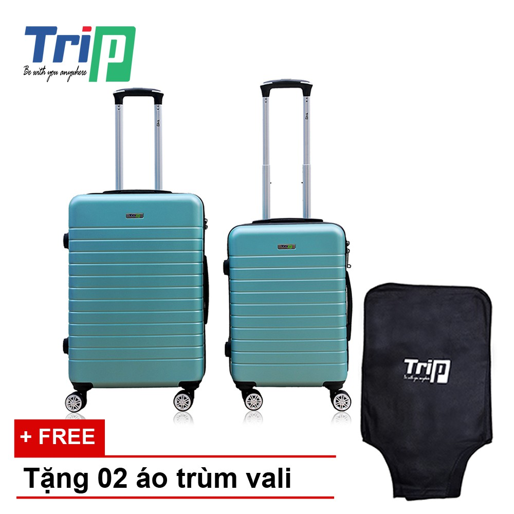 [Nhập mã MASO10 - giảm 10% - đơn trên 400K] Bộ 2 Vali TRIP PC911 Size 20 + 24inch