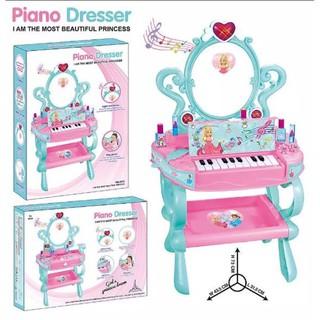 Bàn trang điểm cùng đàn Piano cho bé gái – Magic Piano Dresser