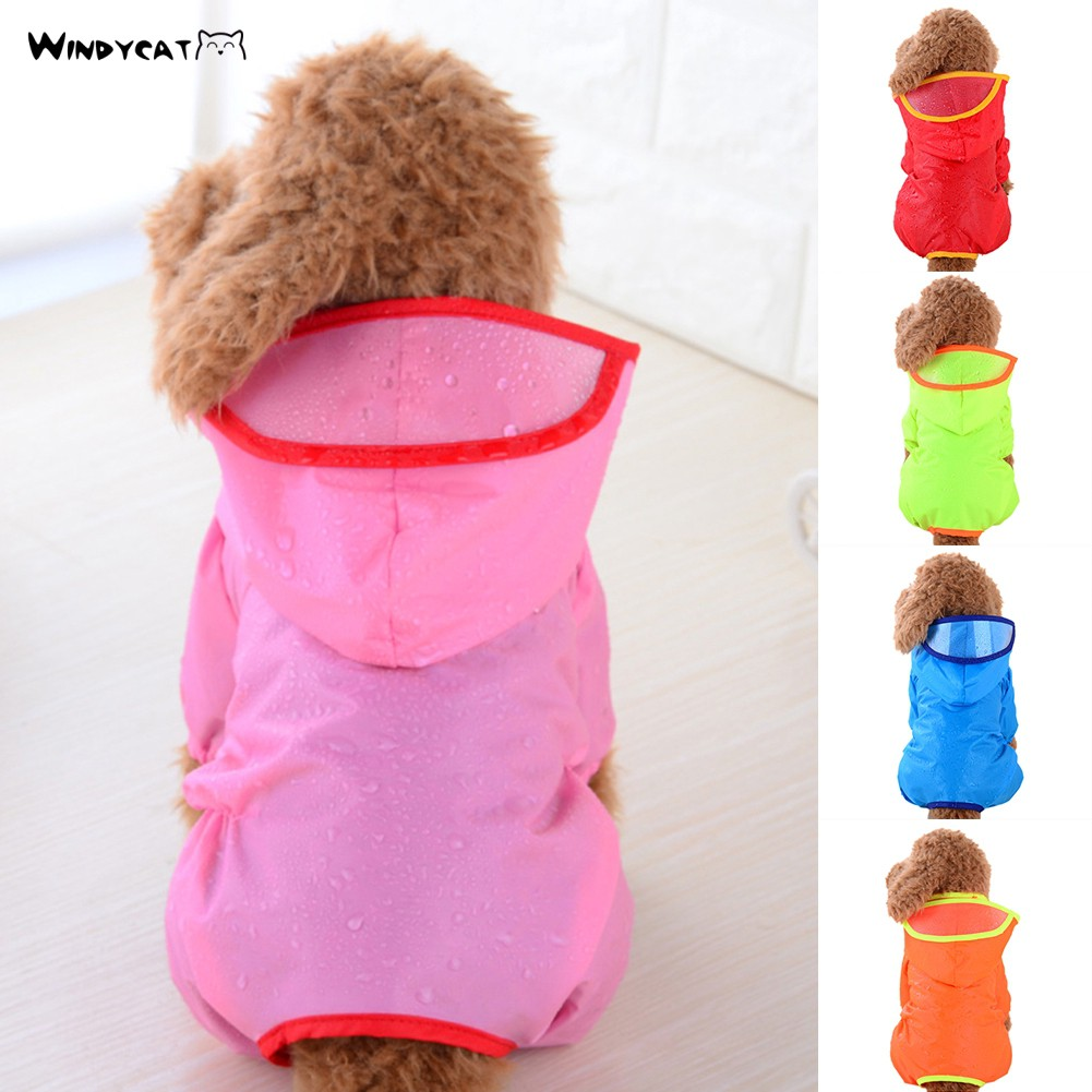 Waterproof Dog Hooded Apparel Jacket Pet Clothes