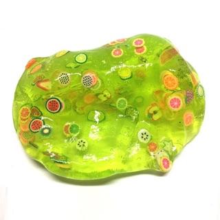 Slime xanh nail trái cây