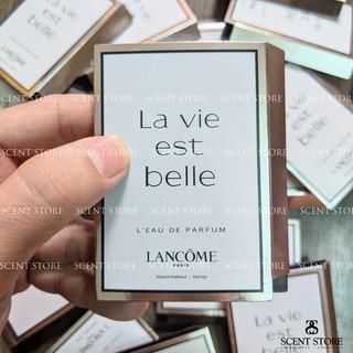 Scentstorevn - Vial chính hãng nước hoa Lancome Lavie Est Belle [1.2ml] thumbnail