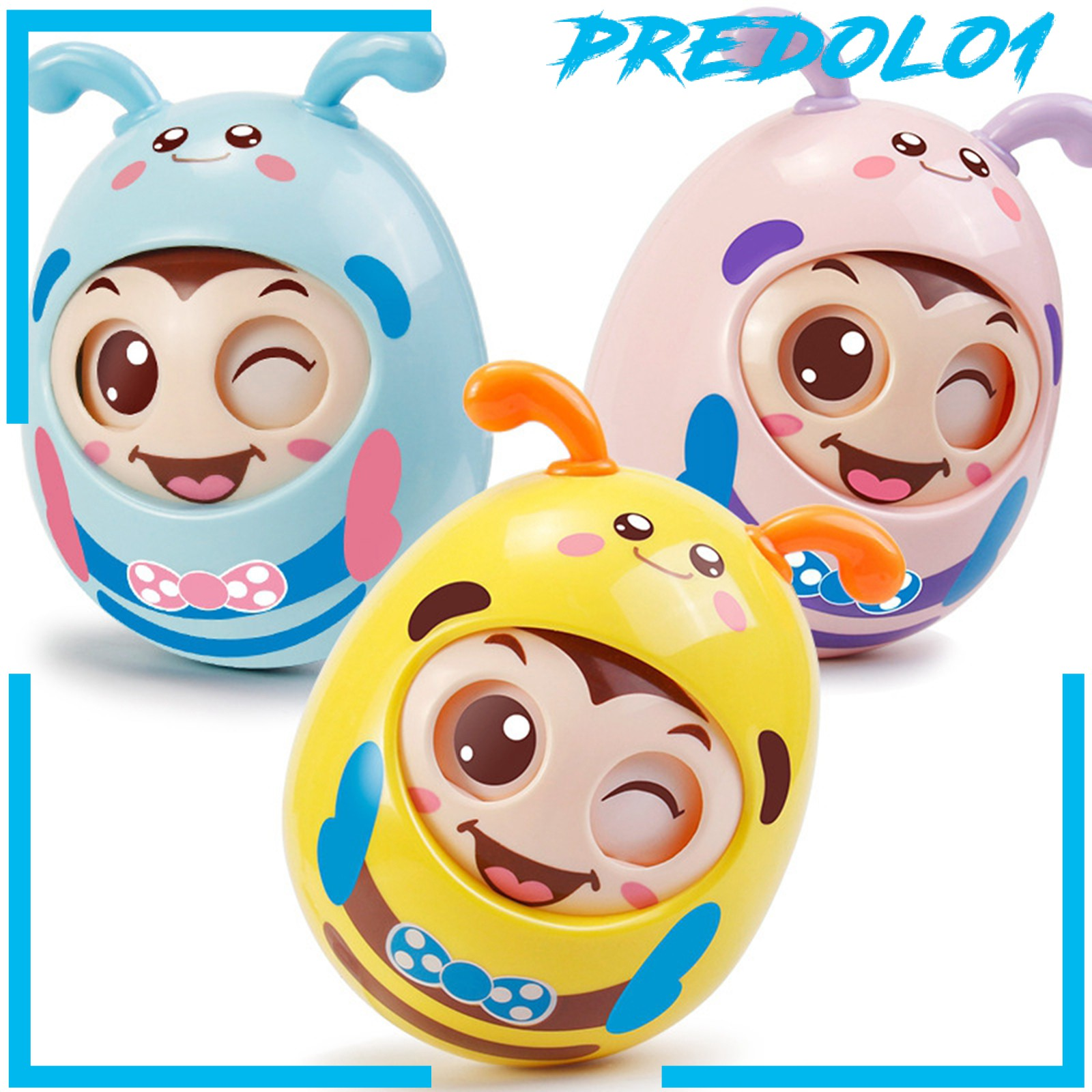[PREDOLO1] Safety Roly-Poly Tumbler Infant Baby Toys Best Gifts Tummy Time Toys
