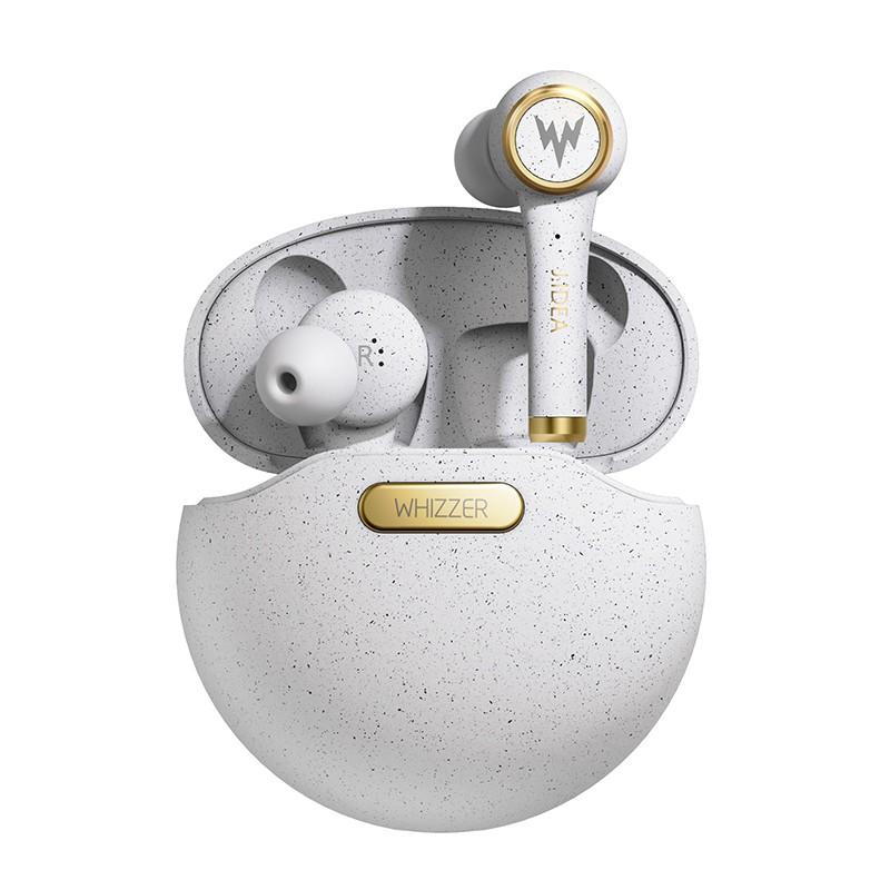 Whizzer TP1 Bluetooth 5.0 TWS Wireless Earphone In Ear Sport Earbud Gaming Head 3D Stereo Sound Earphone with Mic