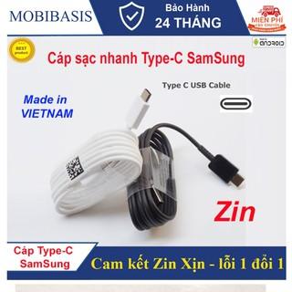 Cáp sạc nhanh Type-C 1.2M cho điện thoại Made in VietNam