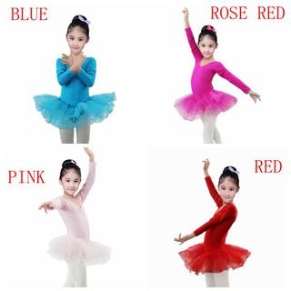 Đầm múa ba lê dễ thương dành cho bé gái