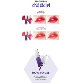 Son môi VT X BTS The Sweet Mousse Lip Fluid Màu 01 - Đỏ Nhung 4.5g-7