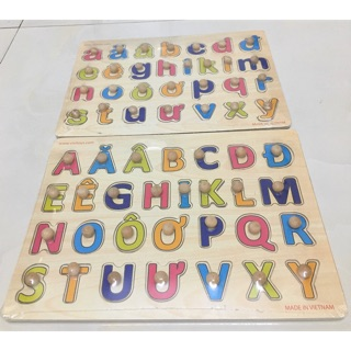 Bảng chữ cái tiếng việt cho bé