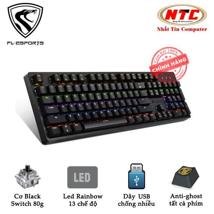 Bàn phím cơ Black Swich cao cấp FL Esports K188 dành cho game thủ chuyên nghiệp - led Rainbow 13 chế - 2551715 , 521715950 , 322_521715950 , 1353000 , Ban-phim-co-Black-Swich-cao-cap-FL-Esports-K188-danh-cho-game-thu-chuyen-nghiep-led-Rainbow-13-che-322_521715950 , shopee.vn , Bàn phím cơ Black Swich cao cấp FL Esports K188 dành cho game thủ chuyên ng