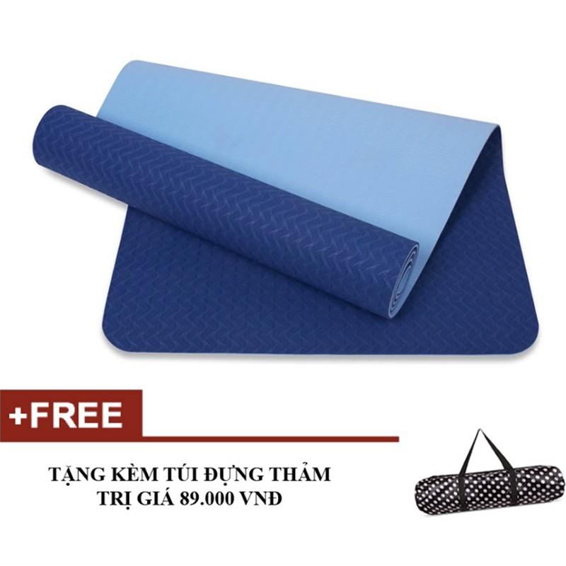 Thảm tập yoga Mat 8mm 2 lớp TPE Eco Friendly Tặng túi đựng - 3133561 , 1251221100 , 322_1251221100 , 538000 , Tham-tap-yoga-Mat-8mm-2-lop-TPE-Eco-Friendly-Tang-tui-dung-322_1251221100 , shopee.vn , Thảm tập yoga Mat 8mm 2 lớp TPE Eco Friendly Tặng túi đựng