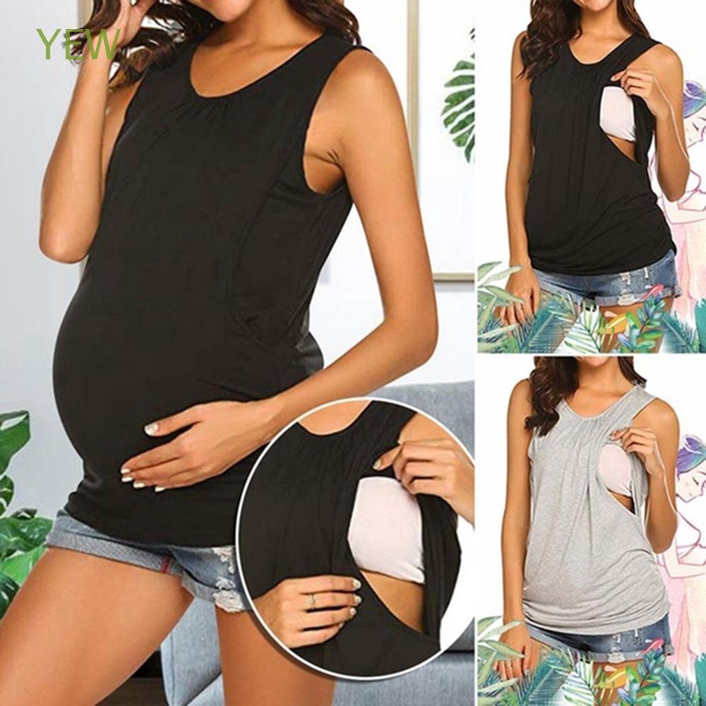 Áo thun màu trơn cho phụ nữ mang thai - 13880136 , 2274210905 , 322_2274210905 , 189100 , Ao-thun-mau-tron-cho-phu-nu-mang-thai-322_2274210905 , shopee.vn , Áo thun màu trơn cho phụ nữ mang thai