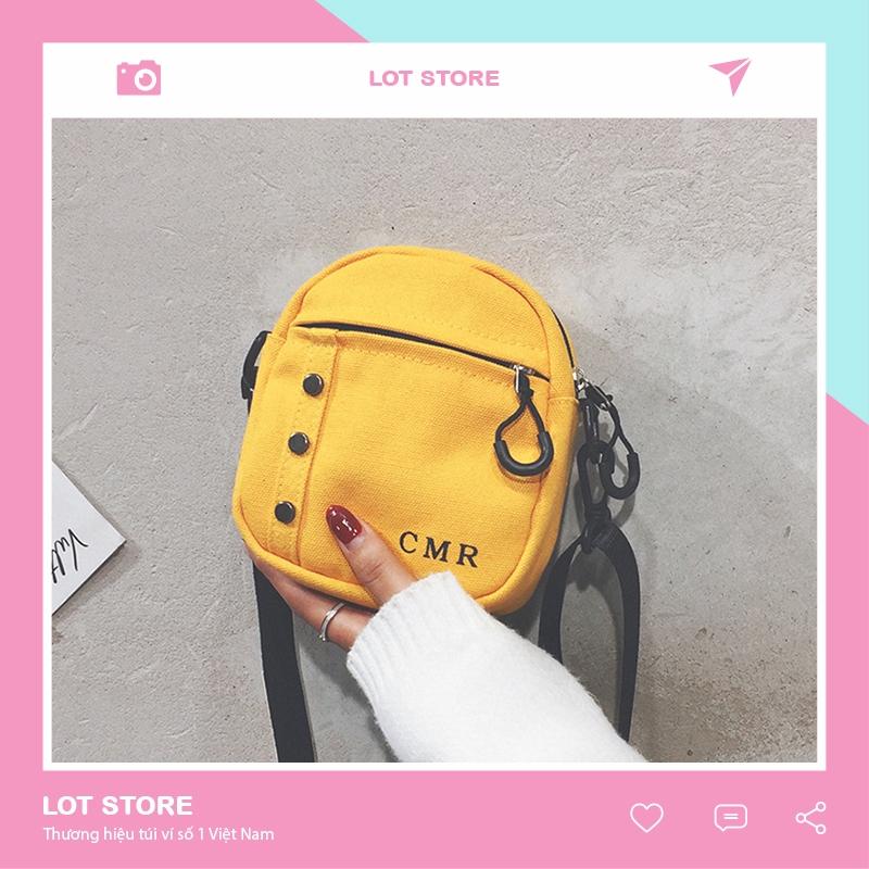 Túi vải đựng quần áo đeo vai thời trang nhỏ trơn giá rẻ TX319