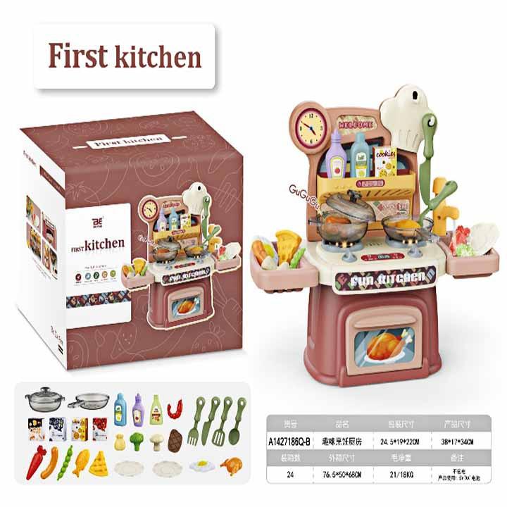 Đồ chơi bếp bằng nhựa dành cho bé